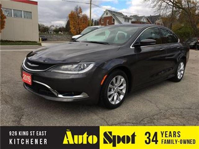 2015 CHRYSLER 200 C/TOP OF THE LINE/PRICED FOR A QUICK SALE! in Kitchener, Ontario