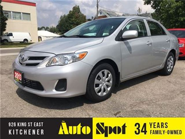 2013 TOYOTA COROLLA CE in Kitchener, Ontario