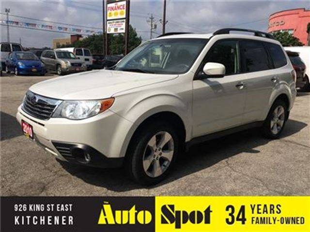 2010 SUBARU FORESTER TOURING/PRICED FOR A QUICK SALE ! in Kitchener, Ontario
