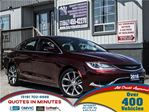 2016 Chrysler 200 C   PANORAMIC ROOF   NAV   LEATHER   BACKUP CAM in London, Ontario