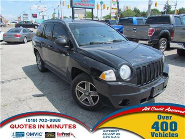 2009 JEEP COMPASS NORTH EDITION   4X4   MANUAL in London, Ontario