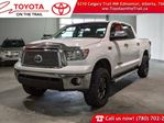 2012 Toyota Tundra Platinum, Remote Starter, Running Boards, Leather, Heated & Cooled Seats, Sunroof, Back Up Camera, Alloy Rims, Bluetooth, 5.7L V8, 4x4, Crew Max in Edmonton, Alberta