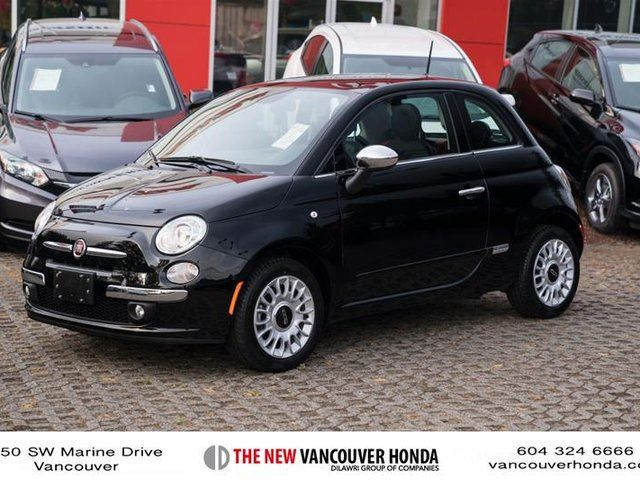2014 FIAT 500 Lounge in Vancouver, British Columbia