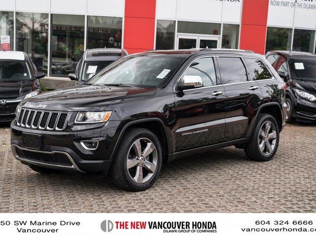 2014 JEEP GRAND CHEROKEE 4x4 Limited in Vancouver, British Columbia