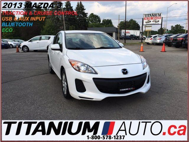 2013 MAZDA MAZDA3 BlueTooth+Traction & Cruise Control+New Tires & Br in London, Ontario