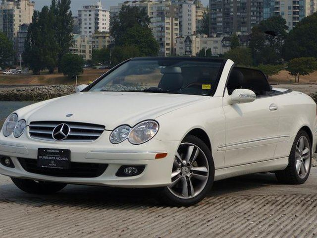 2008 MERCEDES-BENZ CLK-CLASS Cabriolet in Vancouver, British Columbia