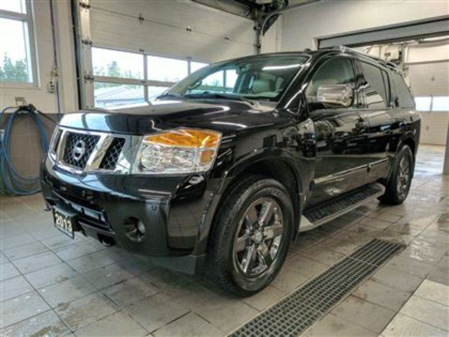 2013 NISSAN ARMADA Platinum Reserve - LOADED! 8 PASS - MINT! in Thunder Bay, Ontario