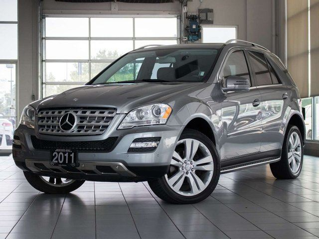 2011 MERCEDES-BENZ M-CLASS ML 350 BlueTEC 4MATIC in Kelowna, British Columbia