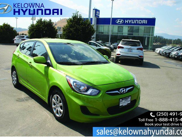2014 HYUNDAI ACCENT GL 4dr Hatchback in Kelowna, British Columbia