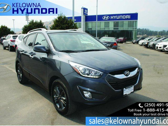 2015 HYUNDAI TUCSON GLS 4dr All-wheel Drive in Kelowna, British Columbia
