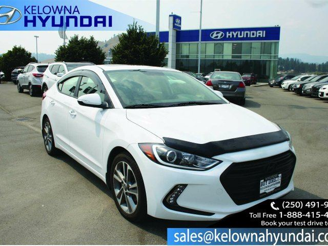 2017 HYUNDAI ELANTRA GLS 4dr Sedan in Kelowna, British Columbia