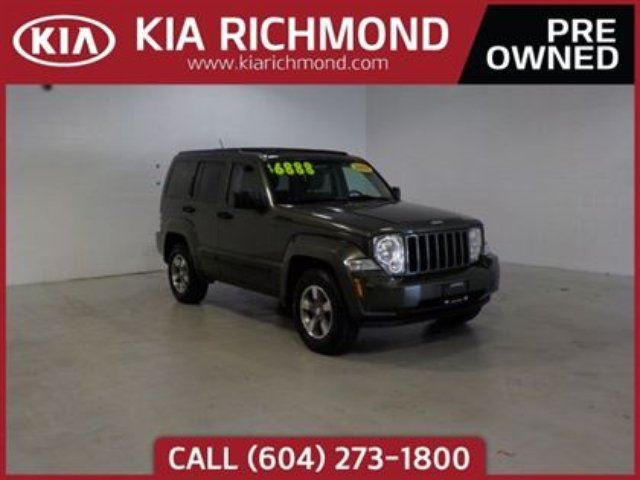 2008 JEEP LIBERTY Sport in Richmond, British Columbia