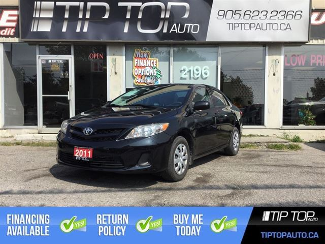 2011 TOYOTA Corolla CE ** Automatic, Low KMs, A/C, Reliable, Fuel E in Bowmanville, Ontario