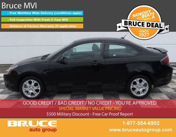 2010 FORD FOCUS SE 2.0L 4 CYL AUTOMATIC FWD 2D COUPE in Middleton, Nova Scotia
