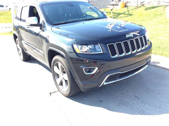2016 JEEP GRAND CHEROKEE LIMITED/LEATHER/4X4 in Dartmouth, Nova Scotia