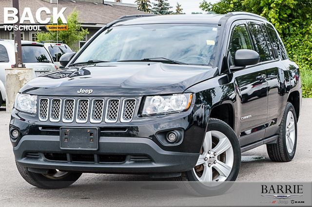 2014 JEEP COMPASS NORTH 4X4 in Barrie, Ontario
