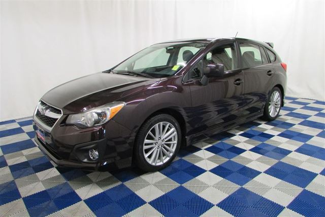 2012 SUBARU IMPREZA 2.0i Sport Package AWD/SUNROOF/USB/HTD SEATS in Winnipeg, Manitoba