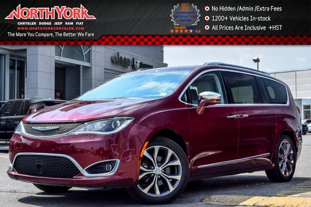 2017 CHRYSLER PACIFICA Limited Tire&Wheel,TrailerTow,Thtre&Sound,AdnvcdSftyPkgs  in Thornhill, Ontario