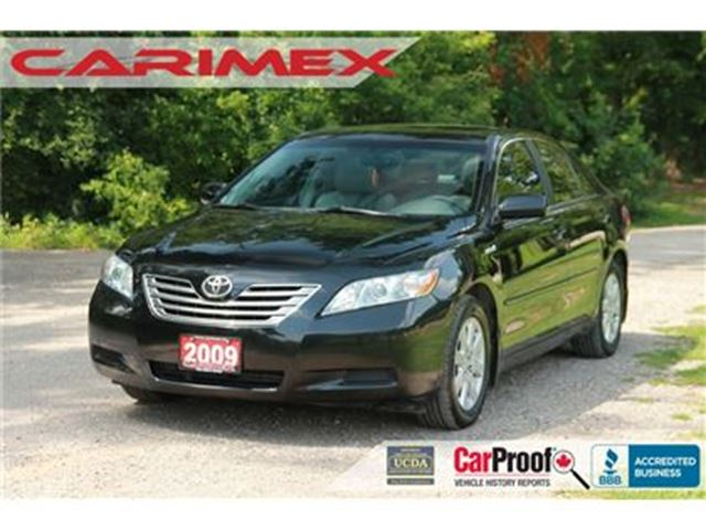 2009 TOYOTA CAMRY Hybrid Base Accident-FREE   CERTIFIED in Kitchener, Ontario