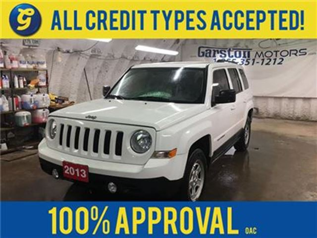 2013 JEEP PATRIOT NORTH*4WD*CRUISE CONTROL*CLIMATE CONTROL*TRACTION in Cambridge, Ontario