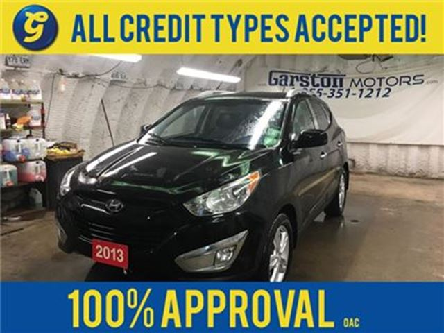2013 HYUNDAI TUCSON GL*AWD*LEATHER*PHONE CONNECT*HEATED FRONT SEATS*EC in Cambridge, Ontario