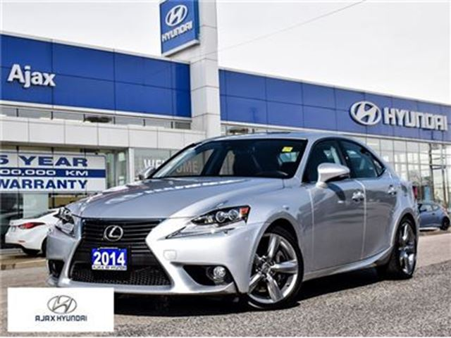 2014 LEXUS IS 350 *AWD Leather Sunroof Navigation in Ajax, Ontario