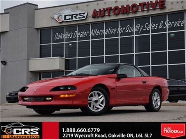 1994 CHEVROLET CAMARO Z28 6-Speed Manual With Only 79.160 Kms! in Oakville, Ontario
