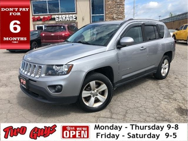 2014 JEEP COMPASS Sport/North LOCAL ONE OWNER TRADE IN!! in St Catharines, Ontario