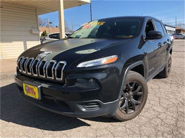 2015 JEEP CHEROKEE SPORT   V6 4X4  ALLOYS   POWER GROUP in St Catharines, Ontario