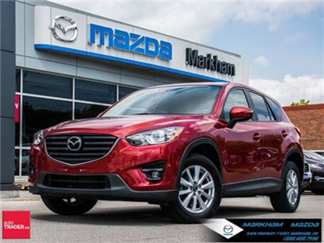 2016 MAZDA CX-5 GS AWD ACCIDENT FREE LEASE RETURN in Markham, Ontario