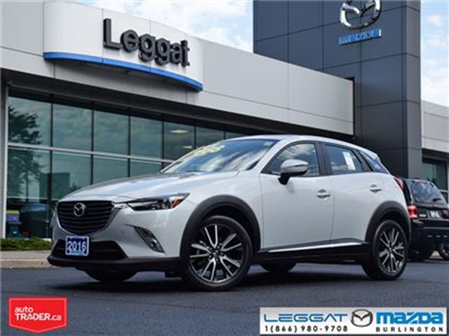 2016 MAZDA CX-3 GT AWD in Burlington, Ontario
