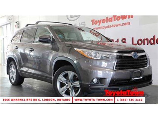2015 TOYOTA HIGHLANDER LIMITED LEATHER NAVIGATION BLIND SPOT MONITOR in London, Ontario