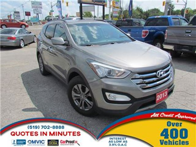 2013 HYUNDAI Santa Fe 2.0T PREMIUM   TURBO   BLUETOOTH in London, Ontario