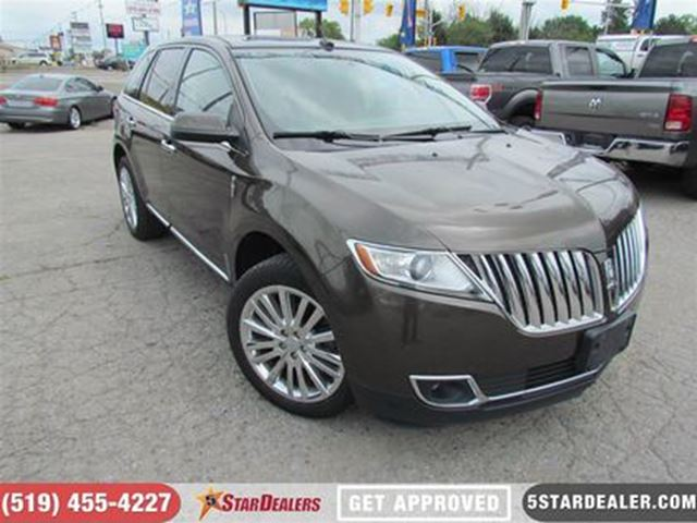 2011 LINCOLN MKX LIMITED   AWD   NAV   PANORAMIC ROOF   BACKUP CAM in London, Ontario
