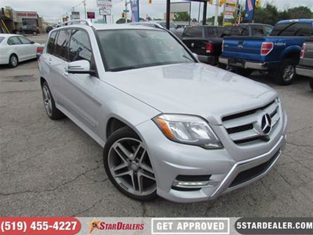 2014 MERCEDES-BENZ GLK-CLASS GLK250 BlueTec   AWD   NAV   LEATHER in London, Ontario