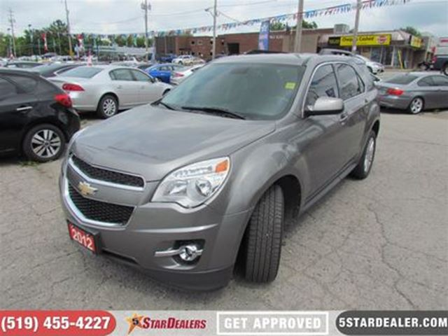 2012 CHEVROLET Equinox 2LT   LEATHER   BLUETOOTH   BACKUP CAM in London, Ontario