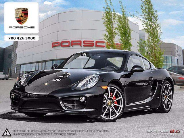 2015 PORSCHE CAYMAN Certified Pre-owned | Manual Transmission | Sport Chrono & Sport Exhaust! in Edmonton, Alberta