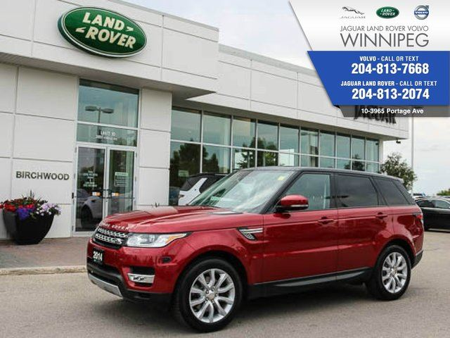 2014 LAND ROVER RANGE ROVER Sport HSE Supercharged *LOCAL LEASE* in Winnipeg, Manitoba