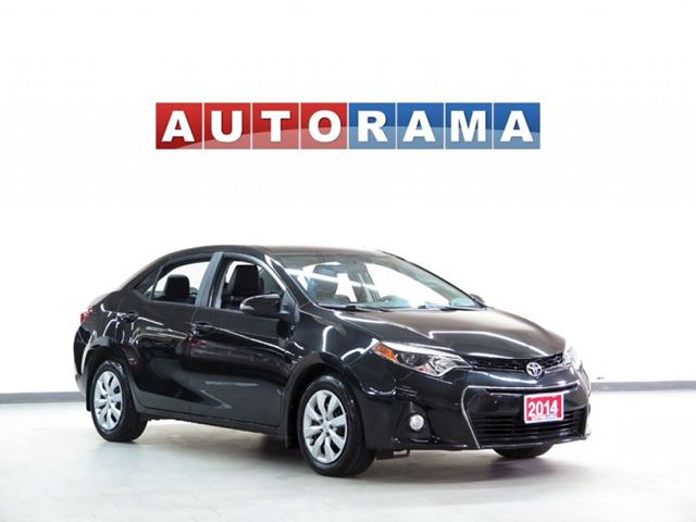 2014 Toyota Corolla SPORT PKG LEATHER BACKUP CAM BLUETOOTH in North York, Ontario
