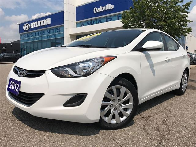 2012 HYUNDAI ELANTRA GL  1.8L  A/T  BLUETOOTH  HEATED SEAT in Oakville, Ontario
