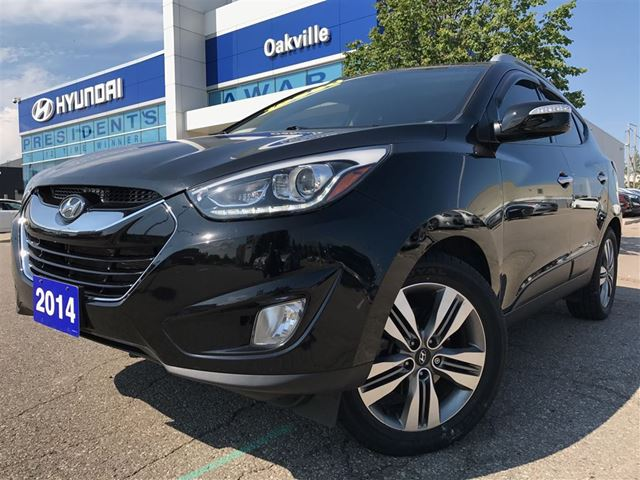 2014 HYUNDAI TUCSON LIMITED  AWD  NAVI  CAM  LEATHER  PAN ROOF in Oakville, Ontario