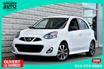 2015 Nissan Micra *SR*27000KM*AUTOM**BLANC*MAGS*A/C* in Longueuil, Quebec