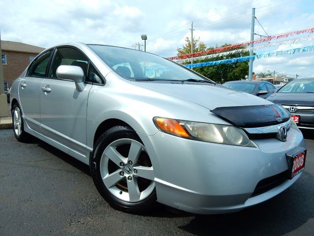 2008 HONDA CIVIC LX  AUTOMATIC  ONE OWNER  LOW KM in Kitchener, Ontario