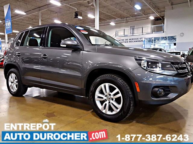 2014 VOLKSWAGEN TIGUAN 4X4 - AUTOMATIQUE - AIR CLIMATISn++ in Laval, Quebec