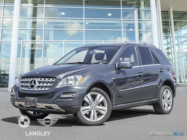 2011 MERCEDES-BENZ M-CLASS ML 350 BlueTEC in Langley, British Columbia