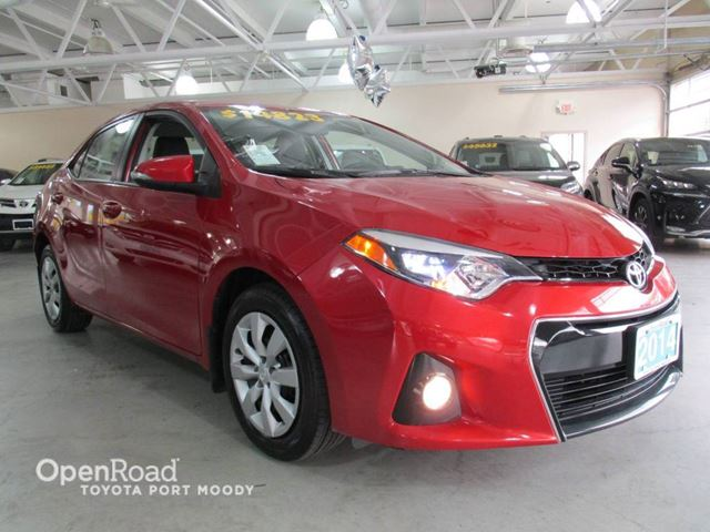2014 TOYOTA COROLLA S - Bluetooth, Backup Camera, Heated Front Seats in Port Moody, British Columbia