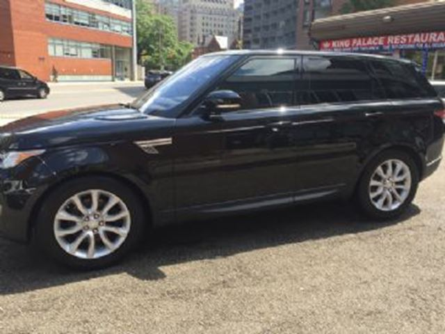 2016 LAND ROVER RANGE ROVER Sport 4WD  V6 HSE in Mississauga, Ontario