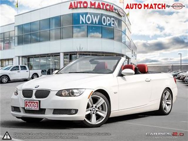 2009 BMW 3 SERIES I RWD Hard Top Convertiable in Barrie, Ontario