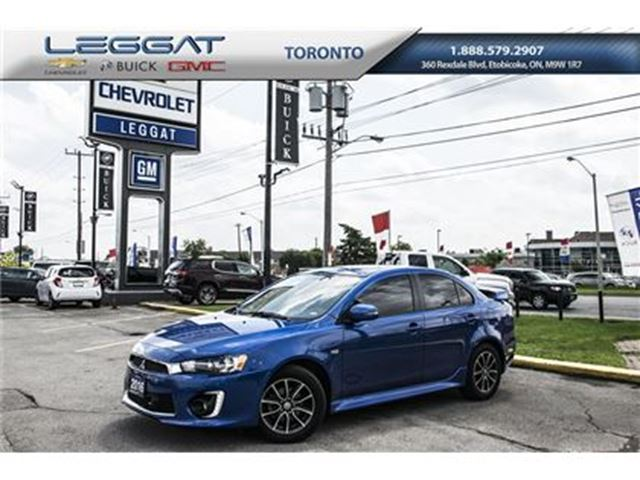 2016 MITSUBISHI LANCER SE, Auto, Sunroof and more in Rexdale, Ontario