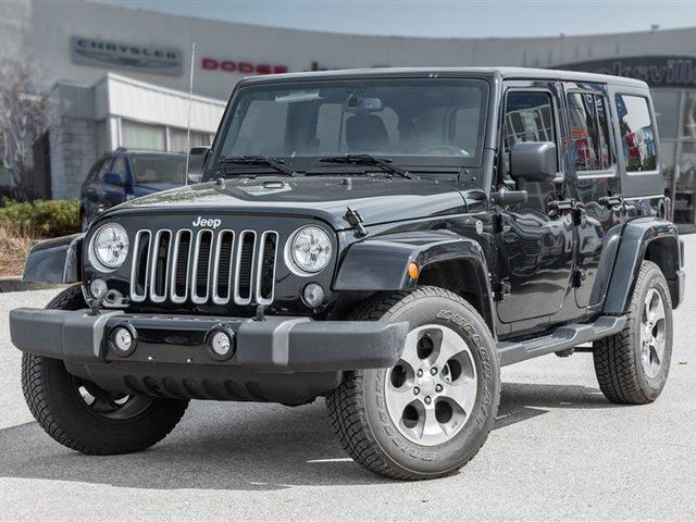 2017 JEEP WRANGLER Unlimited Sahara in Mississauga, Ontario